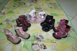 цену снижено до 8 марта ботинки-сапоги кожа 21р. BARTEK