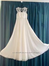 Свадебное платье в стиле ампир S-XS
