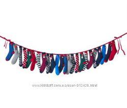 Рождественские новогодние носки 12 пар Tchibo