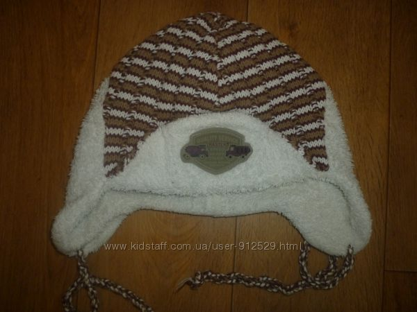 шапка на мальчика 2-4 года  недорого