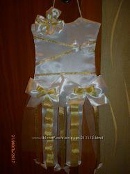 органайзер-платье для заколок, резинок и обручей