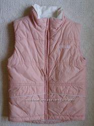 Жилетка розовая H&M р 128 7-8 yrs