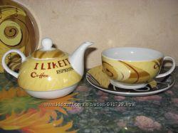 Чайный сервиз на 1 персону
