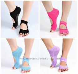 Нескользящие носки для йоги и пилатеса