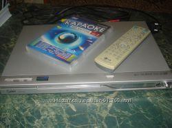 DVD LG DK575XB с караоке