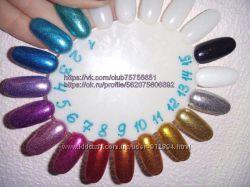 Глиттер, Зеркальный блеск для дизайна ногтей