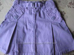 Коттоновая юбка для девочки