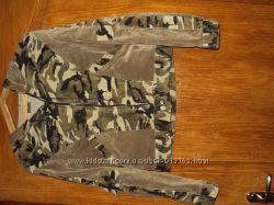 Вельветовая легкая куртка