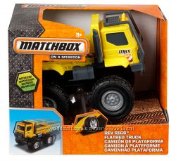 Грузовик Matchbox Rev Rigs Flatbed Truck