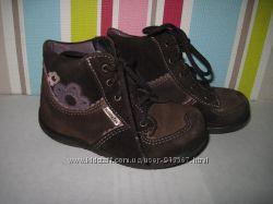 Ботинки кожа деми Pepino для девочки 21 размер стелька 14 см