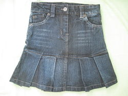 Юбки джинс 5-6 лет 110-116 см