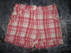 Шорты для девочки коттон джинс 5-6 лет 110-116 см
