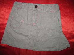 Юбка ассиметричная M&S для девочки 4-5 лет 104-110 см