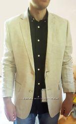 Крутой лляной пиджак Top Secret 52р.  блейзер  піджак