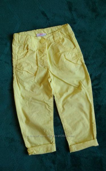 Милые штанишки Topomini на рост 92-98 штаны брюки штани 3 года