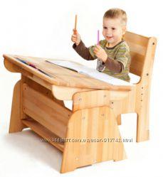 Парта растишка со стульчиком, детский стол