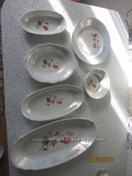 посуда дешево  , тарелки селедочники разные