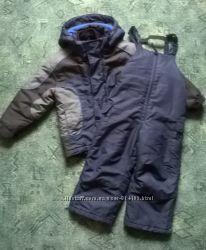 Зимний костюм Rothschild, полукомбез и куртка, для мальчика 4-5 лет