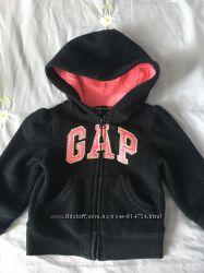 Фирменная толстовка Baby Gap на девочку 12-18 мес