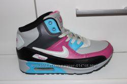 Кроссовки зимние Nike Air Max В Наличии разные цвета