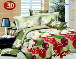 Очень красивые комплекты постельного белья 3D ТМ TAG 100 хлопок