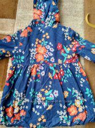 Весенний текстильный плащик Crazy8  3Т