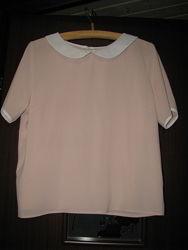 Фирменные блузы с коротким  рукавом