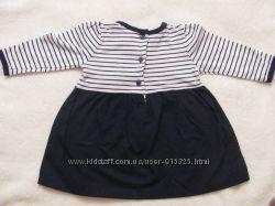 модное платье 3-6мес