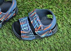 Детские босоножки сандалии Nike на мальчика синие р18-23