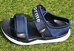Детские босоножки сандалии аналог Nike Blue найк синие р26-30