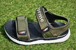 Детские босоножки сандалии аналог Nike Haki найк хаки р26-30