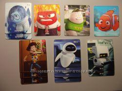 3D Коллекционные карточки Варус Disney Pixar VARUS. фигурки Звёздные Войны