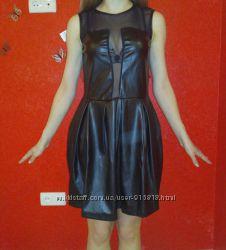 Платье из экокожи Италия