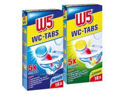 Таблетки для очистки туалета W5