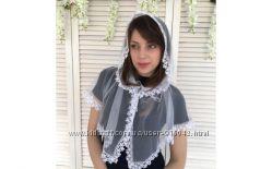 Платок для церкви, церковный платок, в ассортименте