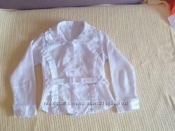 Школьные сарафан и блузка р. 122 и 134