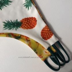 Двухсторонние цветные трусики от купальник , новые