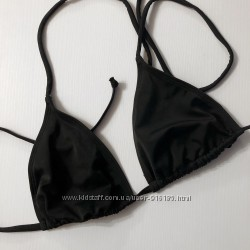 Чёрный купальник , F&F, раздельный