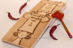 Книга рецептов, кулинарный блокнот, подарок на 8 марта