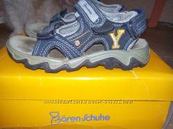 Замшевые сандали Baren Schuhe