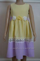 Нарядное платье с хб подкладкой