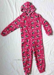 Человечек пижама на девочку 5-6 лет комбез
