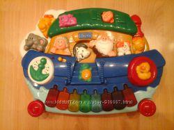 развивающая игрушка музыкальное пианино chicco