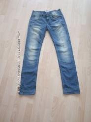 джинсы, брюки синие женские размер 32 garcia jeans