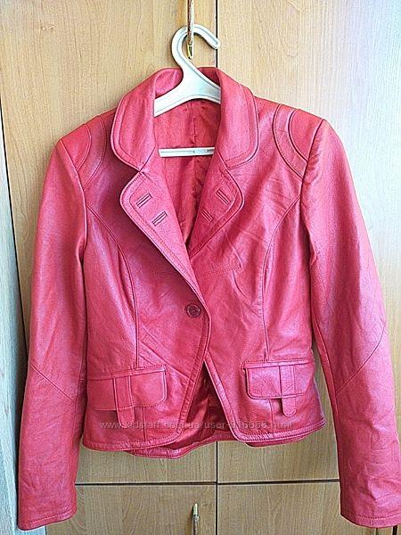 Пиджак кожаный, косуха