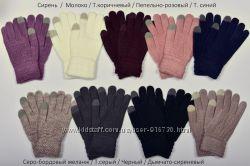 Сенсорные женские  перчатки