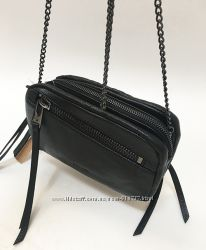 Брендовая кожаная сумка кроссбоди Linea Pelle из США