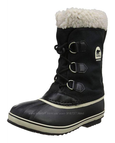 Зимние непромокаемые термо-сапоги SOREL Yoot Pac ОРИГИНАЛ 34