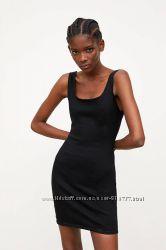 Джинсовое мини платье Zara оригинал М