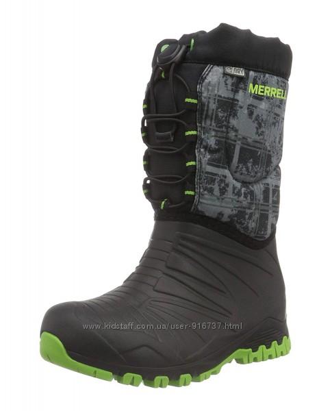 Зимние непромокаемые термо-сапоги MERRELL Snow Quest Boots ОРИГИНАЛ 31